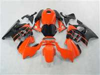 1991-1994 Honda CBR 600 F2 Orange Black Fairings | NH69598-12