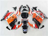 1991-1994 Honda CBR 600 F2 Orange Black Red Fairings | NH69598-13