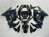 1991-1994 Honda CBR 600 F2 Black/Blue Fairings | NH69598-24