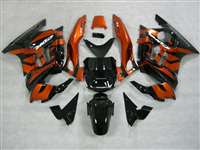 1991-1994 Honda CBR 600 F2 Black/Orange Fairings | NH69598-27
