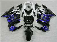 1991-1994 Honda CBR 600 F2 Black/Blue/White Fairings | NH69598-28
