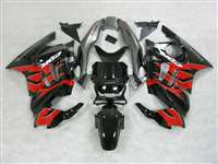 1991-1994 Honda CBR 600 F2 Black/Red/Gray Fairings | NH69598-30