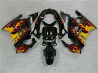 1991-1994 Honda CBR 600 F2 Black/Red/Yallow Fairings | NH69598-31