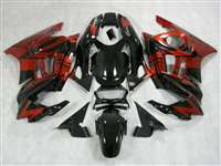 1991-1994 Honda CBR 600 F2 Black/Red Fairings | NH69598-32