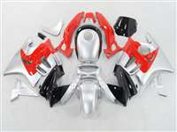 1991-1994 Honda CBR 600 F2 Black Gray Red Fairings | NH69598-37