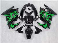Green Tribal 1995-1998 Honda CBR 600 F3 Motorcycle Fairings | NH69598-7