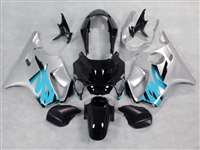 1999-2000 Honda CBR 600 F4 Silver/Blue Fairings | NH69900-7