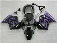 2002-2013 Honda VFR 800 Big Purple Flame Fairings | NH80213-10