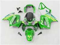 2002-2013 Honda VFR 800 Green Movistar Fairings | NH80213-19