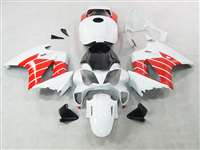 2002-2013 Honda VFR 800 Red/White Fairings | NH80213-7