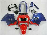1998-2001 Honda VFR 800 Blue/Red Fairings | NH89801-9