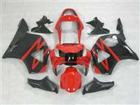 2002-2003 Honda CBR 954RR Red/Black Fairings | NH90203-14