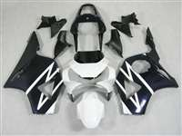 2002-2003 Honda CBR 954RR Black/White Fairings | NH90203-15