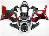 2002-2003 Honda CBR 954RR Red Flame Fairings | # 263 NH90203-18