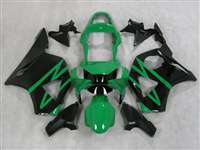 2002-2003 Honda CBR 954RR Green/Black Fairings | NH90203-19
