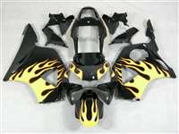 2002-2003 Honda CBR 954RR Yellow Blaze Fairings | NH90203-30