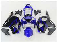 2002-2003 Honda CBR 954RR Black/Blue Fairings | NH90203-38