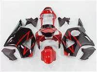 2002-2003 Honda CBR 954RR Black/Red Fairings | NH90203-44