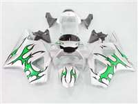 2002-2003 Honda CBR 954RR Green Tribal Fairings | NH90203-45