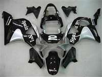 2002-2003 Honda CBR 954RR Spain No. 1 Black Fairings | NH90203-7