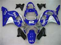 Spain No. 1 Blue 2002-2003 Honda CBR 954RR Motorcycle Fairings | NH90203-8