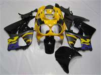 Purple/Yellow 1992-1997 Honda CBR 900RR Motorcycle Fairings | NH99297-1