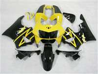 1998-1999 Honda CBR 900RR Black/Yellow Fairings | NH99899-10