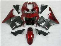 1998-1999 Honda CBR 900RR Satin Black/Red Fairings | NH99899-11