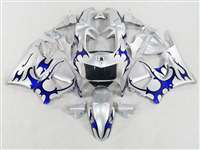 1998-1999 Honda CBR 900RR Blue Tribal Fairings | NH99899-14