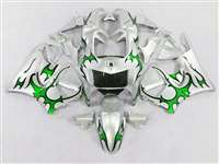1998-1999 Honda CBR 900RR Green Tribal Fairings | NH99899-16