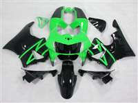 1998-1999 Honda CBR 900RR Green/Black Fairings | NH99899-2