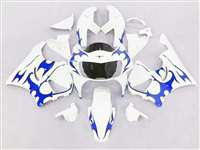 1998-1999 Honda CBR 900RR Blue Tribal Fairings | NH99899-22