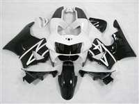 1998-1999 Honda CBR 900RR White/Black Fairings | NH99899-3