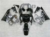 1998-1999 Honda CBR 900RR Flamed Silver Fairings | NH99899-9