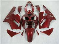 2002-2005 Kawasaki ZX12R Candy Red Fairings | NK10205-16