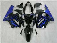 2002-2005 Kawasaki ZX12R Deep Blue Fire Fairings | NK10205-17