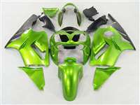 2002-2005 Kawasaki ZX12R Mean Green Fairings | NK10205-19