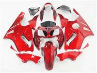 2002-2005 Kawasaki ZX12R Fire Red Metallic Fairings | NK10205-2