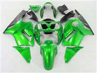2002-2005 Kawasaki ZX12R Electric Green Fairings | NK10205-23