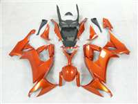 Metallic Orange 2008-2010 Kawasaki ZX10R Motorcycle Fairings | NK10810-5