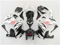 2008-2010 Kawasaki ZX10R FIAT Black Fairings | NK10810-8