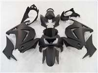 Matte Black 2008-2012 Kawasaki Ninja 250R Motorcycle Fairings | NK20812-1