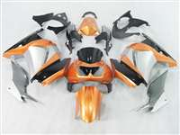 2008-2012 Kawasaki Ninja 250R Metalic Orange/Silver Fairings | NK20812-15