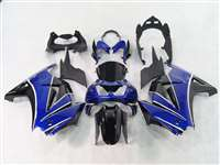 Blue/Black 2008-2012 Kawasaki Ninja 250R Motorcycle Fairings | NK20812-2