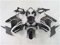 Black/Silver 2008-2012 Kawasaki Ninja 250R Motorcycle Fairings | NK20812-23