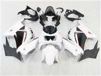 Black/White 2008-2012 Kawasaki Ninja 250R Motorcycle Fairings | NK20812-3