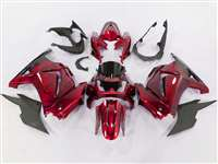 2008-2012 Kawasaki Ninja 250R Candy Red Fairings | NK20812-37
