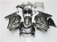Black/Silver 2008-2012 Kawasaki Ninja 250R Motorcycle Fairings | NK20812-40