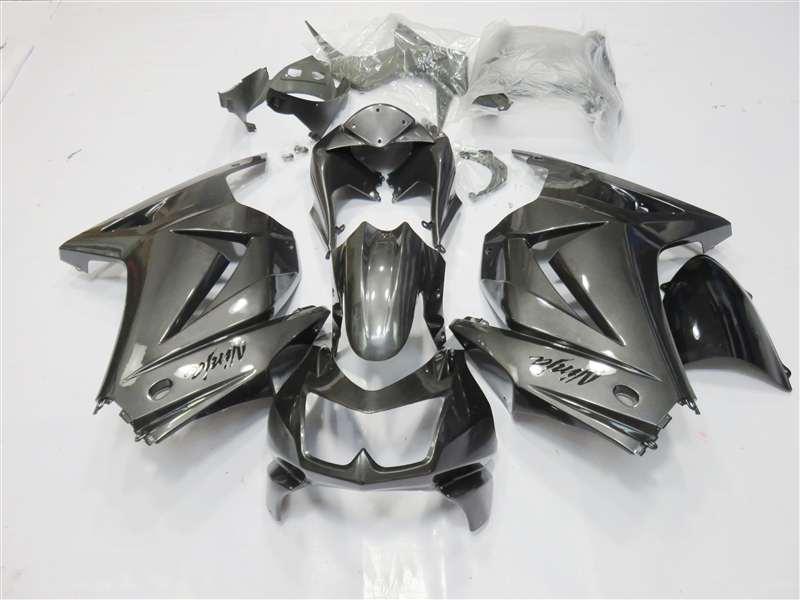 Blacksilver 2008 2012 Kawasaki Ninja 250r Motorcycle Fairings