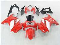 2008-2012 Kawasaki Ninja 250R Red/White OEM Style Fairings | NK20812-8